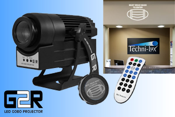 G2R LED 30w Image Projector w/rotator by Techni-Lux