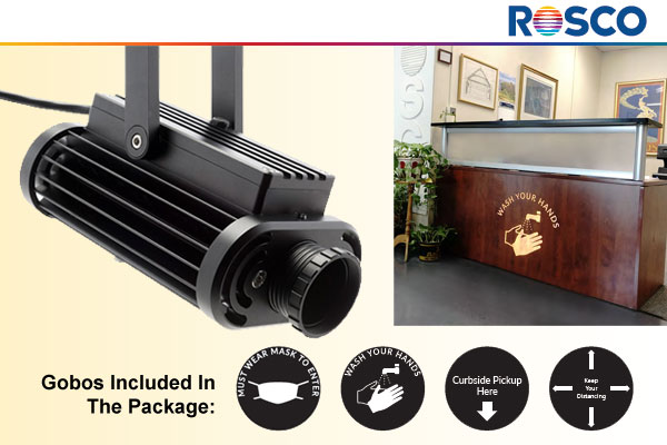 Image Spot Projector Health Gobo package from ROSCO